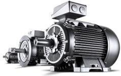 elektrommotor s prevodovkou